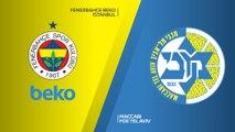 Fenerbahce Beko Istanbul - Maccabi FOX Tel Aviv Highlights   Turkish Airlines EuroLeague RS Round 30