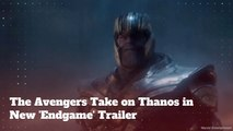 The Avengers and Thanos In Newest 'Endgame' Trailer