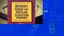 R.E.A.D Handbook of Nitrous Oxide and Oxygen Sedation D.O.W.N.L.O.A.D