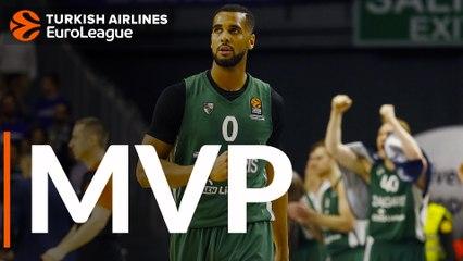 Round 30 MVP: Brandon Davies, Zalgiris Kaunas