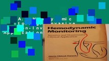 R.E.A.D Hemodynamic Monitoring: Invasive and Non-Invasive Clinical Applications D.O.W.N.L.O.A.D