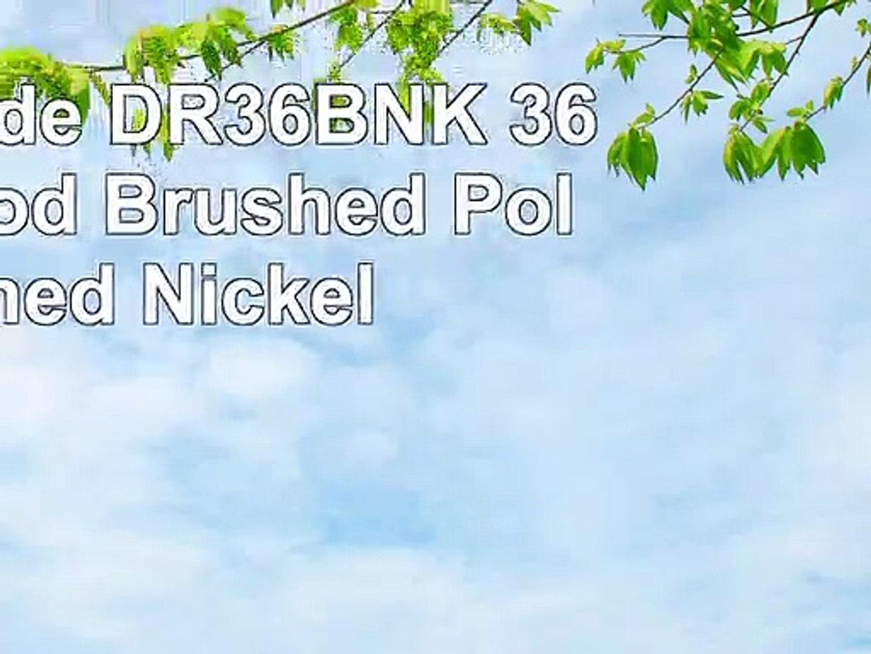 Brushed Polished Nickel Craftmade DR36BNK 36 Downrod