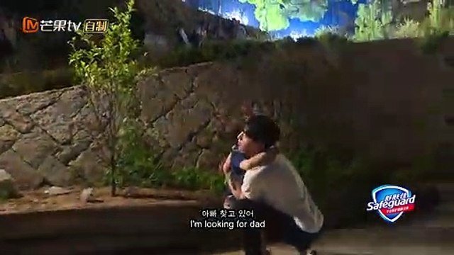"""[Eng sub] Deng Lun """"Where are we going dad 5"""" comforting Du Jiang's son"""