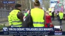 Gilets jaunes: premières tensions à Rouen en marge du cortège des gilets jaunes
