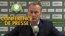 Conférence de presse Red Star  FC - Stade Brestois 29 (0-2) :  (RED) - Jean-Marc FURLAN (BREST) - 2018/2019