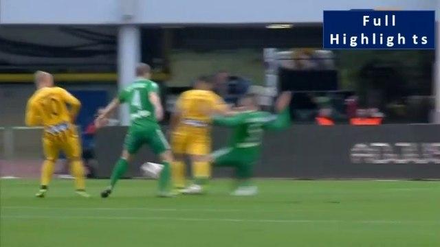 Mateo García ( Aris ) requests a penalty - Panathinaikos vs Aris  06.04.2019  (Full Replay) [HD]