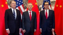 U.S. & Chinese Negotiators Conclude Latest Round Of Talks