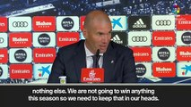 (Subtitled) Zidane finds it hard to motivate his Real Madrid players