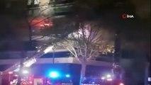 - Paris'te bir binada patlama: yaralılar var- Patlama sonrası çıkan yangına itfaiye ekipleri müdahale ediyor