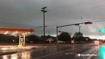 Sirens sound off on tornado-warned severe storm