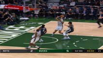 Brooklyn Nets at Milwaukee Buck Raw Recap