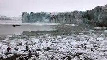 Glaciar se derrumba y pone en peligro a turistas