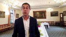 Le maire de Gérardmer Stessy Speissmann déclare sa flamme à la Fête des Jonquilles