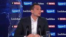 """Pour Jordan Bardella, """"les européennes doivent être un référendum sur la politique de Macron"""""""