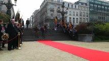 Hommage aux soldats belges morts au Rwanda
