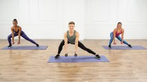 This 30-Minute Full-Body Cardio and Barre Toning Workout Leaves No Muscle Unworked