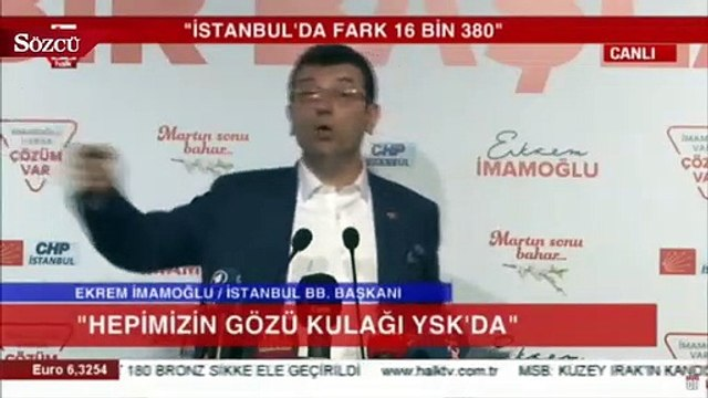 Ekrem İmamoğlu Erdoğan'a seslendi