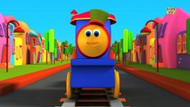 Bob The Train   Learn Colors Song With Bob   Colors Song   Adventure with Colors   Colors Ride