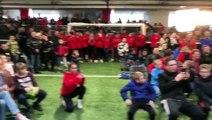 Le discours de Djibril Sidibé aux jeunes footballeurs de Dole