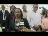 RTG/La ministre de la pêche et de la mer Prisca Koho NLEND a visité les  structures levant de sa  tutelle.