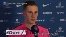 Paris Saint-Germain-RC Strasbourg Alsace: post game interviews