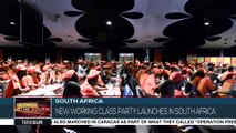 Socialist Revolutionary Workers Party Launches In Johannesburg