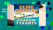 Full version  Shadow Tyrants (The Oregon Files, #13)  Review