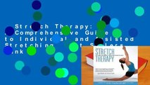 Stretch Therapy: A Comprehensive Guide to Individual and Assisted Stretching  Best Sellers Rank