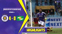 Hightlights | Hà Nội 4-0 SL Nghệ An | Khẳng định vị thế nhà Đương kim vô địch V.League | HANOI FC