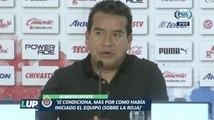 """LUP: """"Veo que vamos a salir de la mala racha"""": Alberto Coyote"""