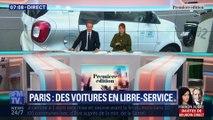 Paris : des voitures en libre-service