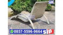 0857-5596-9664, Kursi Santai Rotan Surabaya, Kursi Santai Rotan Taman, Kursi Santai Rotan Pantai