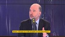 """#Brexit """"Étendre, peut-être, sans doute, mais pourquoi ?"""" s'interroge Pierre Moscovici, commissaire européen aux Affaires économiques et financières"""
