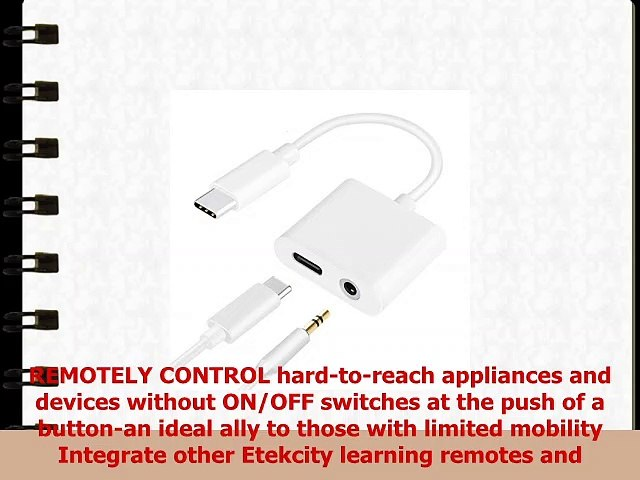 Etekcity Upgraded Remote Control Outlet Wireless Light Switch for Household  Appliances