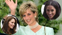 Lady Diana con le nuore Meghan Markle e Kate Middleton: l'immagine toccante apparsa sui social