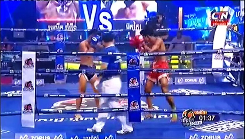 Chan Chamroeun, Cambodia Vs Thai, ouksay, Khmer Boxing 07 April 2019, International Boxing, Kun Khmer Boxing | Godialy.com