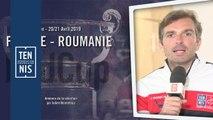 L'annonce de la sélection de Julien Benneteau pour France-Roumanie