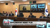 Gov't to speed up process of drawing up extra budget: Finance minister