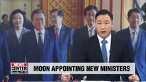 President appoints his picks for five ministries despite rival parties' opposition