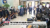 After chairman's death, what's next for Hanjin Group?