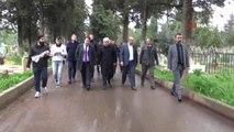 Siverek'te, Şehit Polisler Mezarları Başında Anıldı