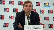 """Fed Cup 2019 - Julien Benneteau : """"Il y aura beaucoup de Roumains, c'est un événement pour eux"""" lors de la demie France-Roumanie à Rouen"""