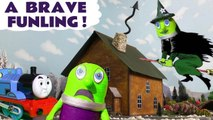 A Brave Funling with Thomas and Friends and the Funny Funlings where they find a Witch Funling in a Spooky Challenge at Halloween in this family friendly full episode english story for kids
