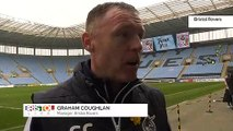 Rovers' Manager Graham Coughlan!
