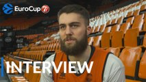 7DAYS EuroCup Finals interview: Mike Tobey, Valencia Basket