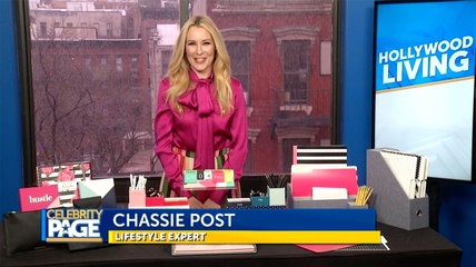 Get Organized this Spring with Chassie Post