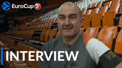 Finals interview: Jaume Ponsarnau, Valencia Basket