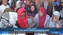 Menteri Susi Berkunjung ke Dua Pesantren di Ciamis