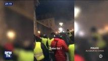 """""""C'était violent, violent, violent."""" Au Puy-en-Velay, les forces de l'ordre n'ont rien pu faire pour protéger la préfecture #PoliceAuCoeurDuChaos"""