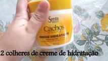 HIDRATAÇÃO PARA CACHEADAS - CACHOS DEFINIDOS, FORTES E HIDRATADOS/ HYDRATING FOR CACHEADAS - FORMS DEFINED, STRONG AND HYDRATED